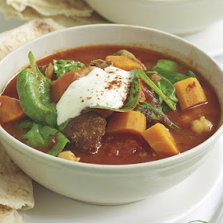 Lamb and Chickpea Soup.