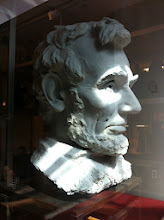 Photo: Abe Lincoln @ New York Historical Museum