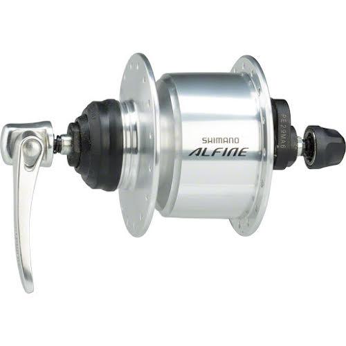 Shimano Alfine DH-S501 Dynamo Centerlock Disc 32h Front - Silver
