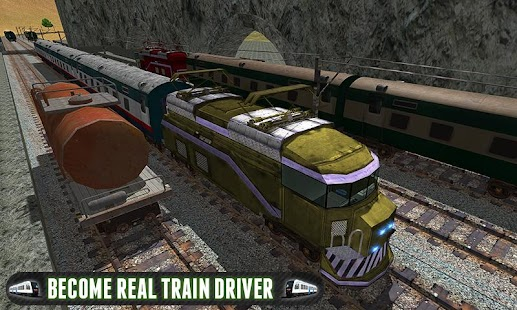 Driving Fast Train Sim 2017 - náhled