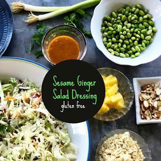Sesame Ginger Salad Dressing
