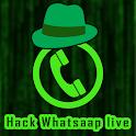 Hack Whatsapp Live Prank icon