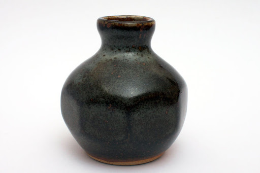 John Leach Ceramic Bud Vase 002