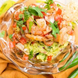 Seafood Guacamole.