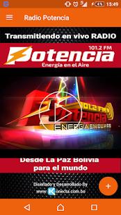 Radio Potencia Bolivia FM 101.2 - náhled
