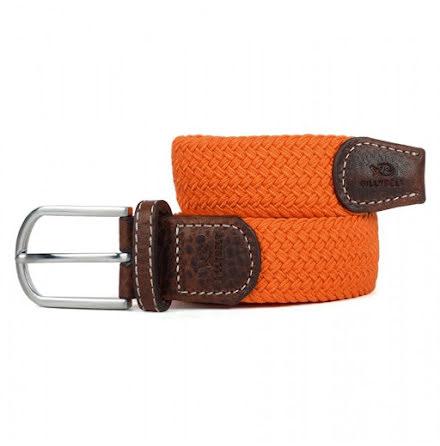BillyBelt Braid belt orange paprika