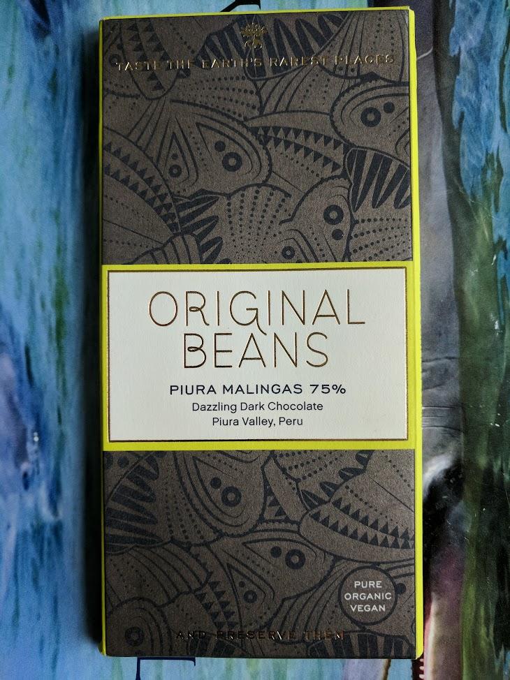 75% original beans peru bar