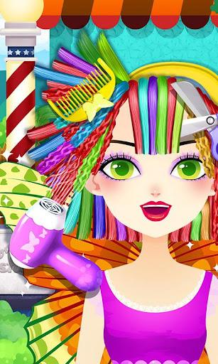 Princess Butterfly Hair Salon