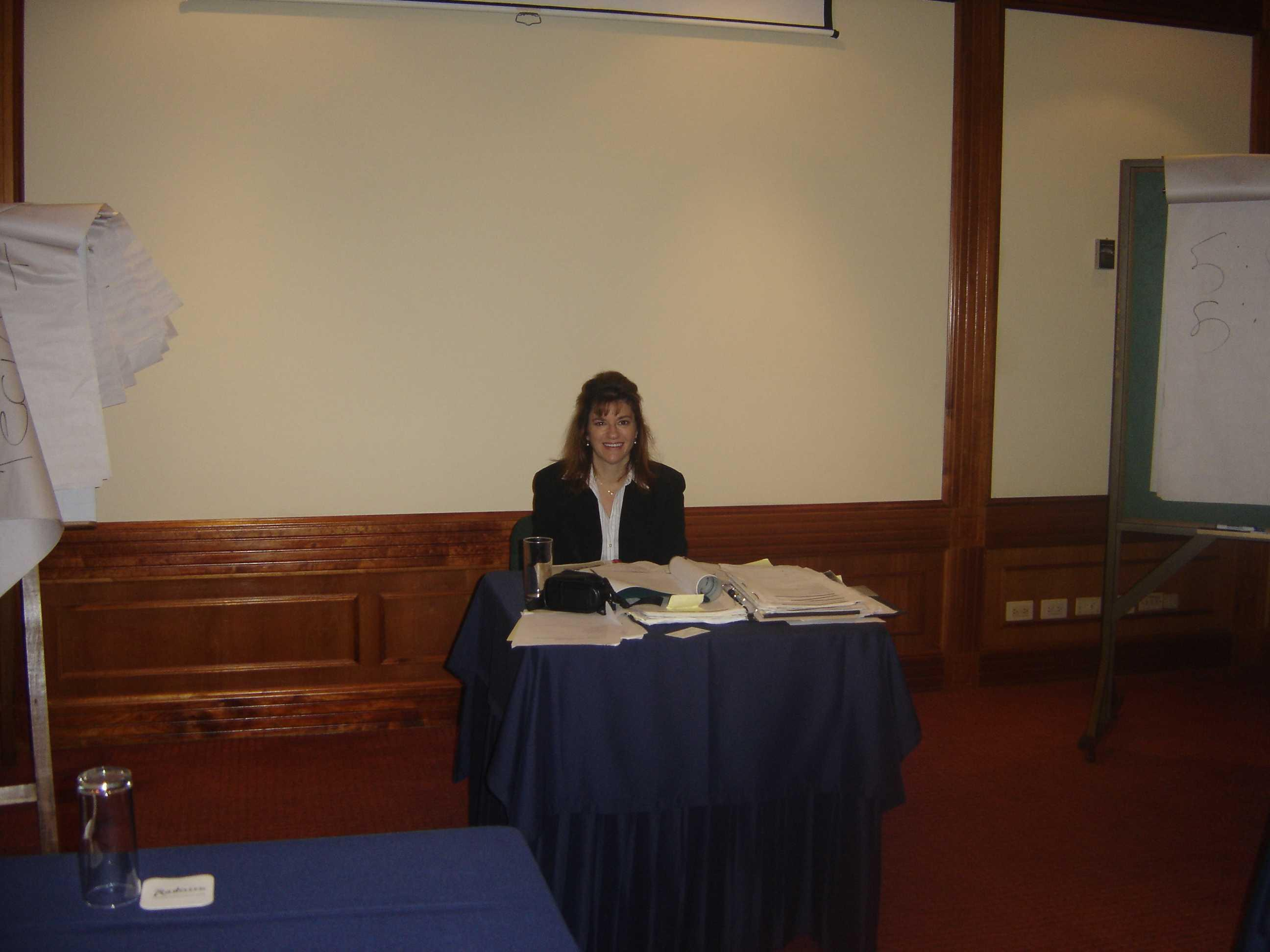 Dena Falken Founder and CEO  Legal-Eese International  Description automatically generated