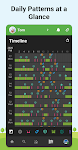 screenshot of Baby Daybook - Newborn Tracker. Breastfeeding log