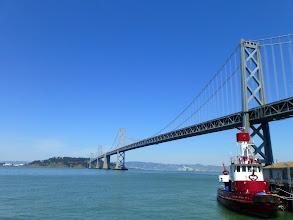 Photo: Bay Bridge from Embarcadero