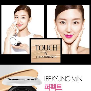 韓國最出名化妝師推出的TOUCH by LEE KYUNG MIN 第三季斑馬紋粉底正裝+替換
