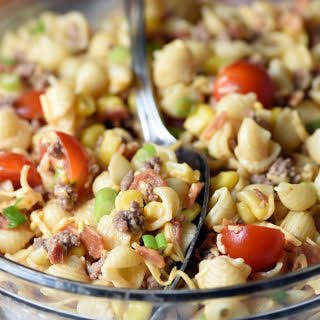 Cowboy Pasta Salad.