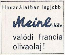 Photo: Reklama oliwy Meinl.