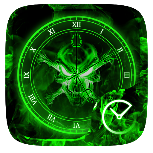 Ghost GO Clock Theme file APK for Gaming PC/PS3/PS4 Smart TV