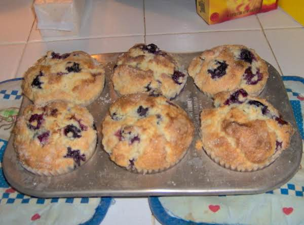 Blueberry Sweet Muffins Recipe