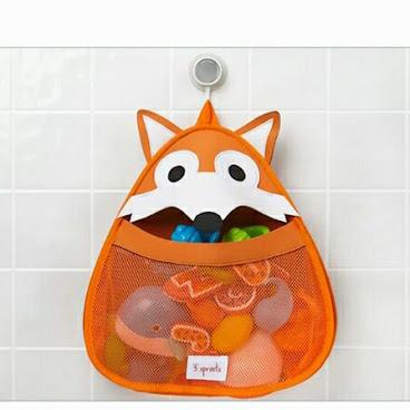 加拿大3 sprouts 可愛動物造型浴室收納袋OT132現貨包郵