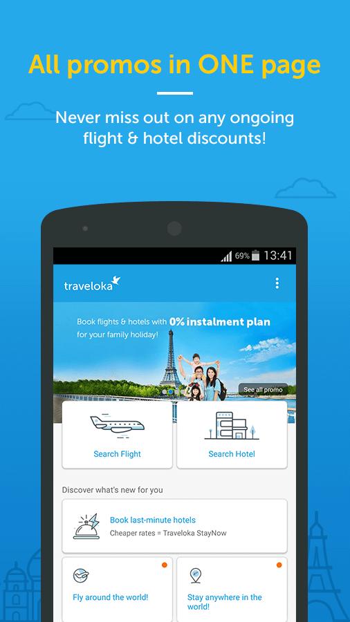 Traveloka Book Flight Amp Hotel Android Apps On Google Play