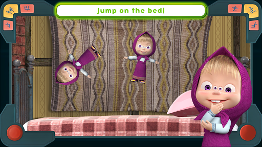 Masha and the Bear: We Come In Peace! apkmr screenshots 4