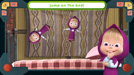 Masha and the Bear Mod Apk: We Come In Peace! (No Ads) 1.0.3 4