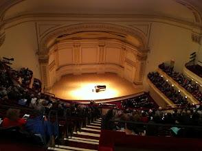 Photo: Carnegie Hall