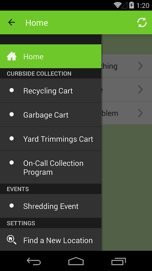 Sunnyvale Recycles Right- screenshot