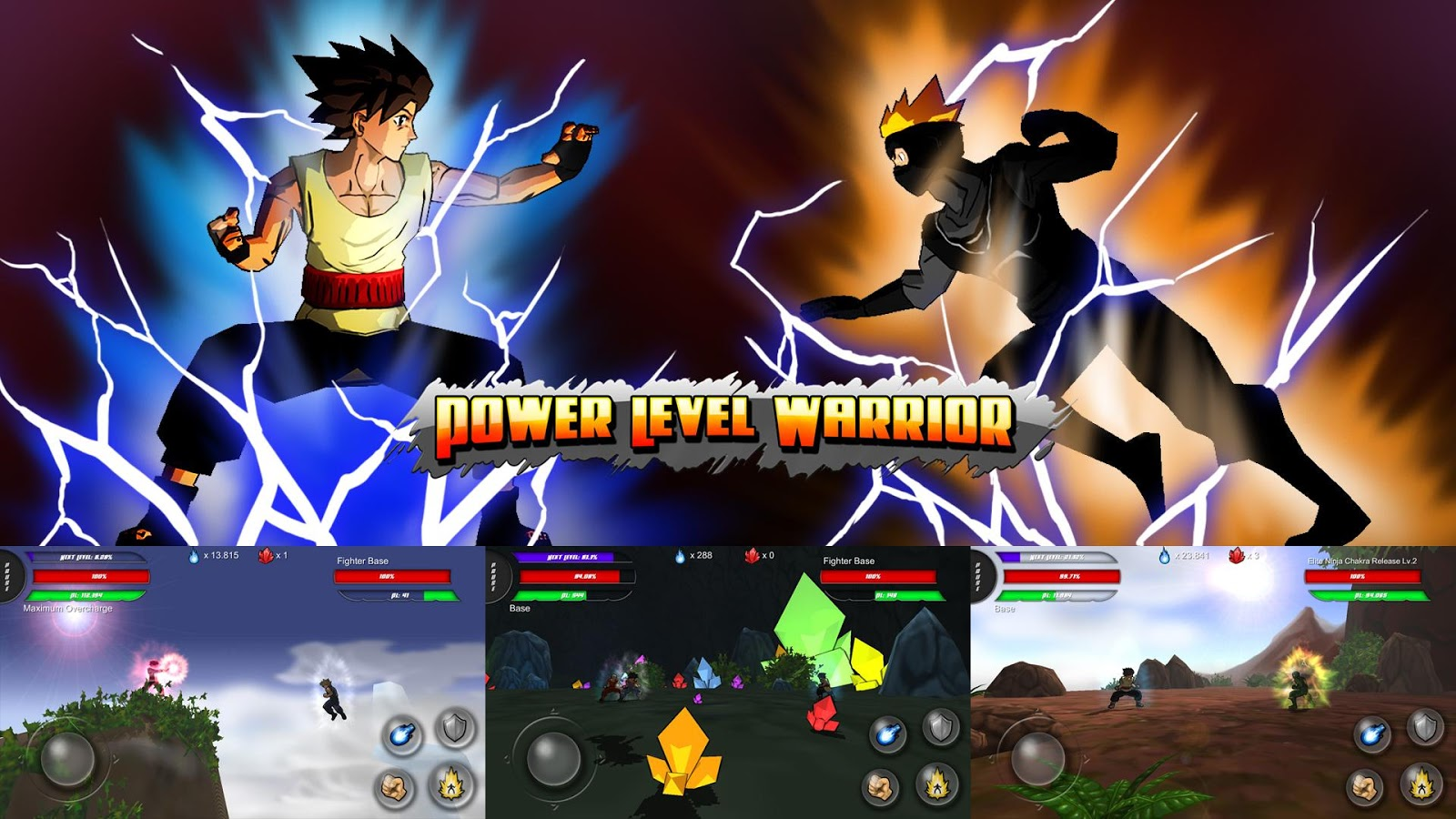 Power Level Warrior- screenshot