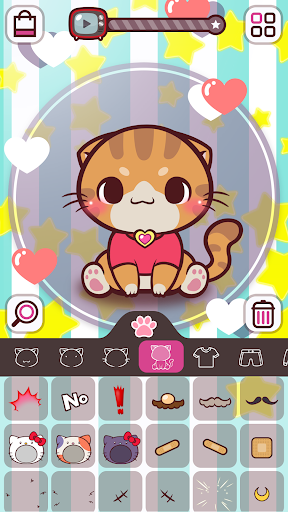 KittCat Story: Cat Avatar Maker  screenshots 5