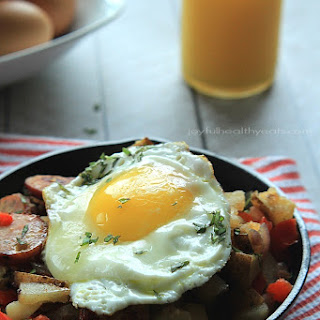 Chicken Sausage Pepper Potato Hash