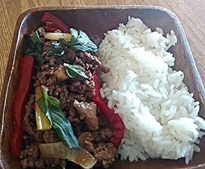 Pad Krapow (spicy Basil Beef)