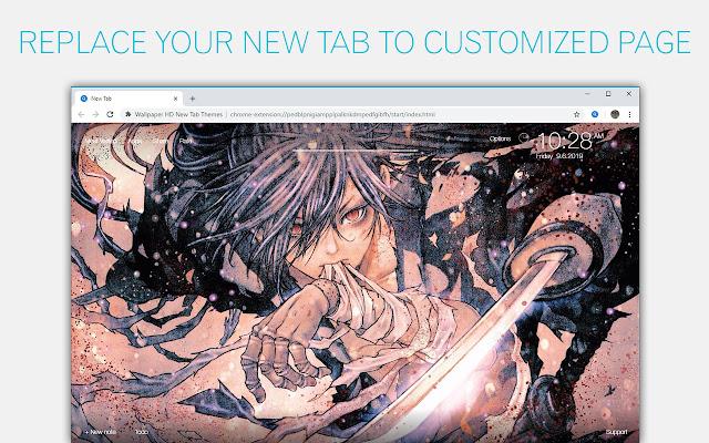 Dororo Anime Wallpaper HD Custom New Tab
