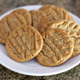 Crunchy Peanut Butter Cookies.