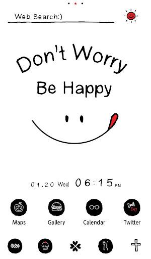 Don't Worry Be Happy Theme 1.0.0 Windows u7528 1