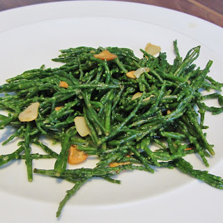 Buttery Samphire with Garlic and Lemon Recipe
