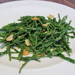 Buttery Samphire with Garlic and Lemon.
