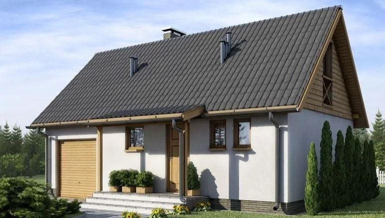 Projekt domu D155 - Danusia