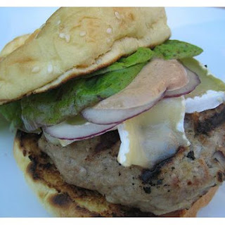 Apple Ginger Turkey Burgers
