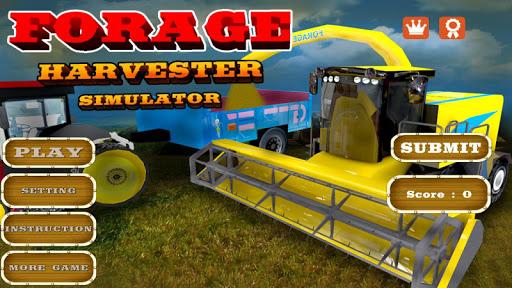 Forage Harvester Simulator