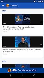 UOL Eleições 2016 – Apuração screenshot 3
