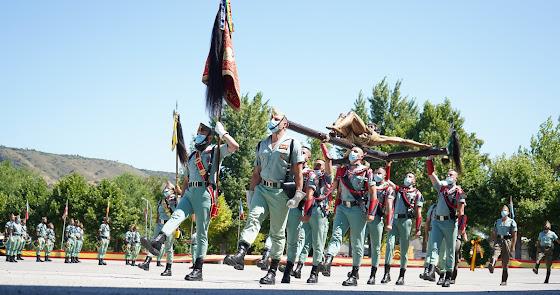 La Caballería de la Legión celebra Santiago en un año clave para la unidad