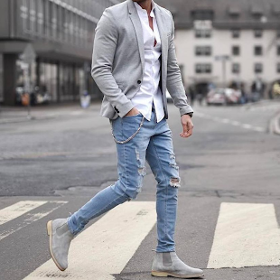 Free Men fashion Guide - náhled
