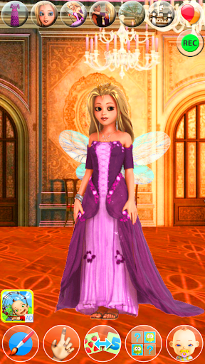 My Little Talking Princess apkpoly screenshots 9