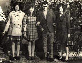 Photo: Maribel, Queti, Ciliucu y Pilarin