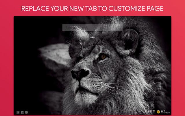 Black Wallpaper HD Custom New Tab