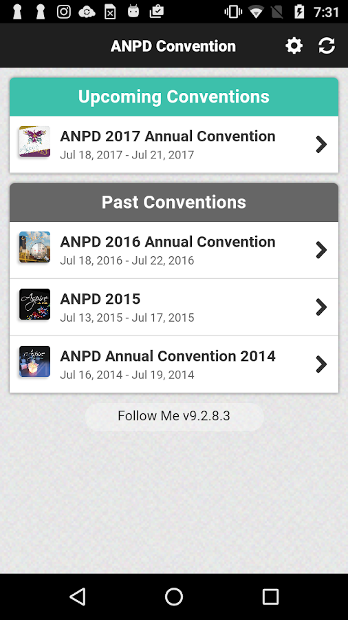 ANPD Convention- screenshot