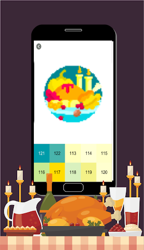 Thanksgiving Pixel Art hack tool