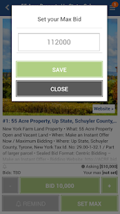 Acre.bid- screenshot thumbnail