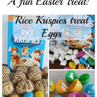 Easter – Rice Krispies Treat Eggs! Recipe