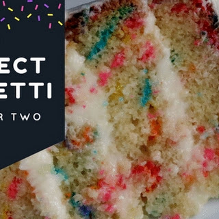 Perfect Funfetti Cake for Two Recipe