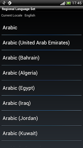 Regional Language Set